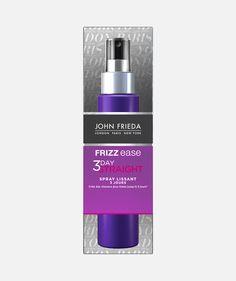 Découvrez le Spray Coiffant Semi-Permanent Lissage 3 Jours de la gamme Frizz Ease® by John Frieda transforme votre chevelure rebelle en une crinière lisse.