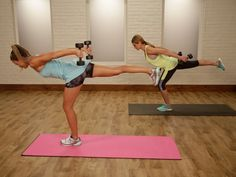 20-Minute Fat-Blasting Workout: In only 20 minutes, you can work your entire body and rev your metabolism.