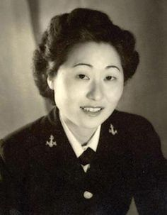 Susan Anh Cuddy was born in Los Angeles in 1915 to Dosan Chang Ho and Helen Anh, who were possibly the first Korean married couple to immigrate to the U.S. Susan graduated from San Diego State in 1940. Two years later, she was the first Asian American woman to join the U.S. Navy where she achieved the rank of lieutenant. Susan was the first female gunnery officer in the U.S. military and later she served with the National Security Agency as a code breaker with top secret Pentagon clearance ~