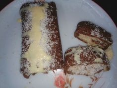 choclate with coconut and condensed milk