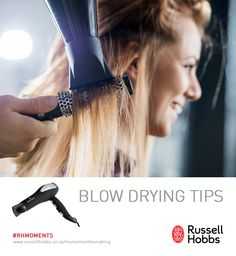 Russell Hobbs South Africa stocks a collection of Hairdryers. Stylish Hairdryers ideal for maintaining a stylish well groomed look. Blow Drying Tips, Hair Hacks, Hair Tips, Hobbs, Hair Dryer, Form, Your Hair, Round Brush, Beauty