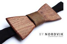 Minimalist Wooden Bowtie