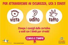 Sai quanti dei tuoi 5 sensi devi usare per attraversare in sicurezza a #Milano? www.radioammma.it/sicurezzastradale