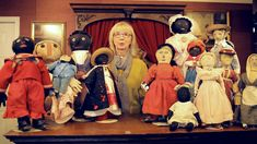 """Dollmastery Vignette Series Presents the Blackler Collection and Early American Cloth Dolls Part 1 """"An American Childhood"""" October 4th-6th, 2014"""