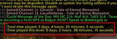 Leveled 1 – 90 in 2 days, 2 hours /played time Yet another amazing result with Dugis!