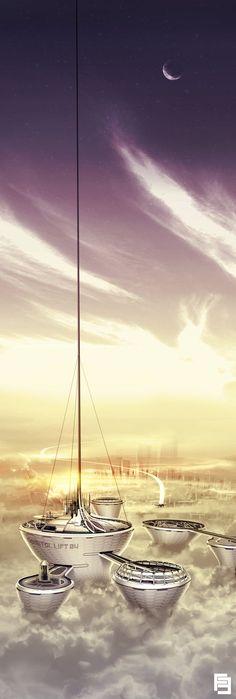 Orbital Lift by IllOO on deviantART