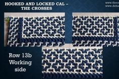 Hooked and Locked CAL – Part 2 – The crosses The Row, Free
