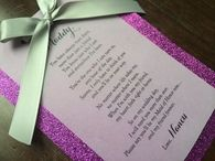 Will You Be My Bridesmaid, Bridesmaid Invite, Bridesmaid Poem, Glitter