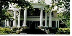 The Holloman-Foy Home is one of the classic homes on display during the annual Eufaula Pilgrimage. Greek Revival Architecture, Southern Architecture, Eufaula Alabama, Southern Mansions, Victorian Houses, Neoclassical, Classic House, Pool Houses, Pilgrimage