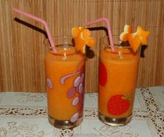 Ricetta Centrifuga ACE arancia carota e limone