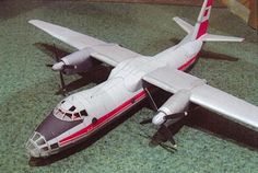 Antonov An-30 Clank Free Aircraft Paper Model Download