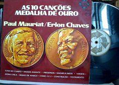 Lp Vinil - Paul Mauriat/Erlon chaves - Medalha de Ouro - http://www.infinityclassic.com.br/produtos/lp-musica-instrumental/lp-vinil-paul-mauriaterlon-chaves-medalha-de-ouro/