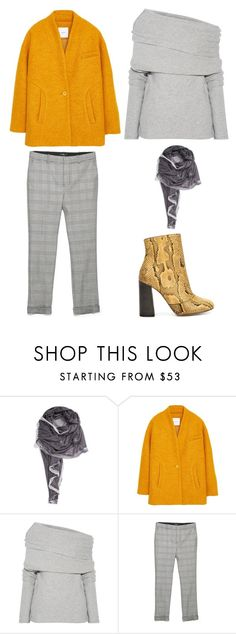 """Outfit Idea by Polyvore Remix"" by polyvore-remix ❤ liked on Polyvore featuring La Fiorentina, MANGO, Joseph and Chloé"