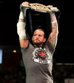 """CM Punk: Main Eventer. With John Cena and Randy Orton being the last legitimate vestiges of the last """"era"""" of Wrestling, Punk is the messiah to a new era. His ONLY weakness is also his greatest strength. His ego ... which makes him a monsterous Heel .. or a belivible Face."""