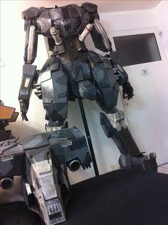 Sahelantropus metal gear solid V - sentinel version / armor cosplay