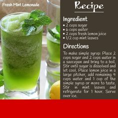 #Refreshing #mintlemonade recipe to try at #home from the house of #Indus Grill Saket