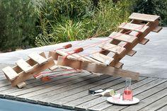 12 idées fantastiques de DIY avec des palettes en bois