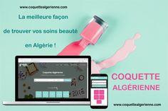 📣 Nous avons le plaisir de vous annoncer la mise en ligne  www.coquettealgerienne.com 🎈🎉 , un tout NOUVEAU CONCEPT EN ALGÉRIE 💪😎, un site qui regroupe les différents salons de beauté en Algérie, avec : ✅ leurs Coordonnées, ✅ leurs Prestations,  ✅ leurs fourchettes de prix et  ✅ des photos de leurs réalisations  Un site hébergé et développé chez #oran_web_agency. Oran, Salons, Photos, Forks, Beauty Care, Baby Born, Everything, Lounges, Pictures