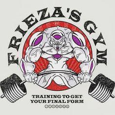 Gonna get that final form! #dragonball #dragonballz #frieza #gym by jiulsangelo