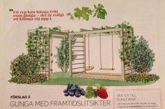 Utmärkt sätt att försköna en gungessats etc. Outdoor Projects, Garden Projects, Landscape Design, Garden Design, Modern Playhouse, Tuscan Garden, Prairie Garden, Outdoor Play Areas, Backyard For Kids