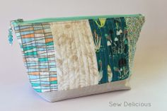 Sew Delicious: Sweet Pouch Swap: My Gift for Lynda