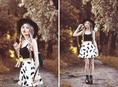 Wholesale7 Skirt, Sheinside Top, Shoes