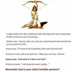 Make Krishna your invisible partner, friend and philosopher. Sanskrit Quotes, Sanskrit Mantra, Vedic Mantras, Hindu Mantras, Hindu Vedas, Hindu Deities, Hinduism, Happy Morning Quotes, Hindu Rituals