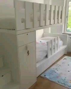 Kids Bed Design, Home Room Design, Room Ideas Bedroom, Bed Design, Kids Room Furniture, Bed For Girls Room, Small Kids Bedroom, Cool Kids Bedrooms, Small Room Design
