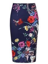 2017 Fashion Sexy Women Floral Print Pencil Skirt Plus Size Package Hip Skirt Office Wear Stretchy Business Elegant Skinny Satin Pencil Skirt, Long Pencil Skirt, Pencil Skirt Outfits, Floral Pencil Skirt, High Waisted Pencil Skirt, Pencil Skirts, Pencil Dress, Boho Skirts, Cute Skirts
