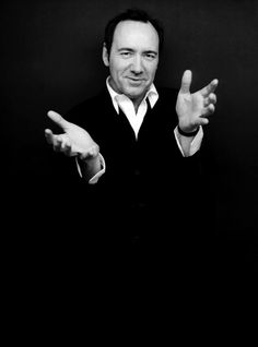 Kevin Spacey - I love this man.