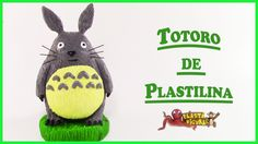 Como Hacer a Totoro de Plastilina/Porcelana Fria/How to Make Totoro with...