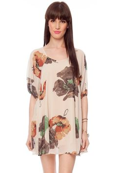 large print floral dress $34 find more women fashion ideas on http://www.misspool.com find more women fashion ideas on http://www.misspool.com find more women fashion ideas on www.misspool.com