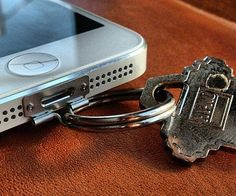 Simplify your life by keeping your keys and cell phone attached to one another using this iPhone keychain attachment. This unique tool attaches in seconds and provides you with an easy way to <del>lose all your stuff at the same time</del> stay organized while you rush out of the house.