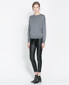 LEGGINGS MOTARD - Pantalons - Femme | ZARA France