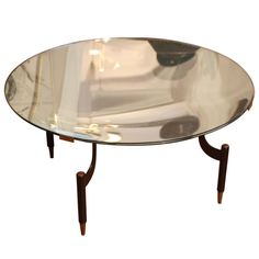 Fontana Arte Occasional Table Italy circa 1950   From a unique collection of antique and modern coffee and cocktail tables at http://www.1stdibs.com/furniture/tables/coffee-tables-cocktail-tables/