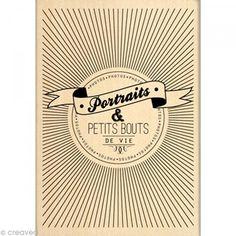 Tampon Border line - Bouts de vie 7 x 10 cm