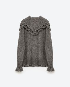 Image 8 of FLOUNCE SWEATER from Zara