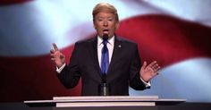 Jimmy Fallon mocked Donald Trump's flashy entrance at the Republican National Convention and addressed the controversy over Melania Trump's speech in a sketch on 'The Tonight Show' on Tuesday, July 19 — watch it now