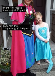My youngest, baby, only daughter asked me to be Anna. That was pretty much all it took. I had to seize this moment! Ana Costume, Adult Anna Costume, Frozen Halloween Costumes, Adult Princess Costume, Anna Frozen Costume, Adult Disney Costumes, Mouse Costume, Halloween 2019, Elsa Halloween