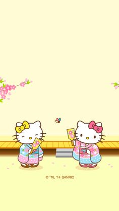 Kitty and Mimi