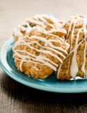 The brown butter icing takes Paula Deen's Loaded Oatmeal Cookies to the next level.