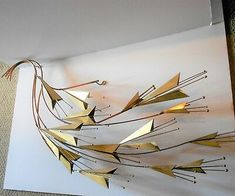 SIGNED C. JERE ABSTRACT FLORAL WALL SCULPTURE LONG MID CENTURY | eBay Metal Wall Sculpture, Wall Sculptures, Mid Century Modern Art, Floral Wall, Metal Walls, Mid-century Modern, Abstract Art, Mirrors, Painting