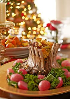 Great Gatherings: Classic Holiday Dinner - Traditional Home® - We'd love to dine on this savory menu as we create new Holiday traditions with our family.