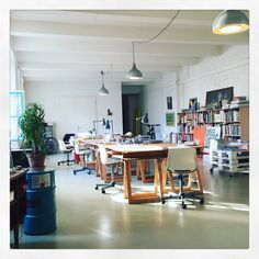 A wonderful sunny day in lower east lab. Pop Up Dinner, Learning Spaces, Sunny Days, Lab, Berlin, Furniture, Design, Home Decor, Decoration Home