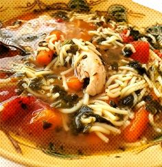Grandma's Old Fashioned Italian Chicken SoupYou can find Italian chicken soup and more on our website.Grandma's Old Fashioned Italian Chicken Soup Italian Chicken Soup, Thai Red Curry, Canning, Website, Ethnic Recipes, Food, Essen, Home Canning, Yemek
