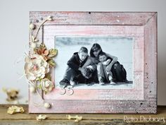 mixmedia photo frame