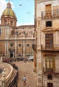 Palermo Holiday Destinations, Palermo, Sicily, Italy Travel, Louvre, Heart, Building, Italy, Turismo