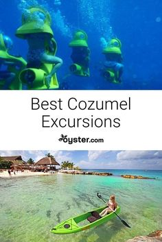 For those who want to do more than sunbathe on the beach, we've rounded up the best tours, experiences, and excursions from Cozumel. Cozumel Snorkeling, Cozumel Excursions, Cozumel Cruise, Caribbean Cruise, Cozumel Beach, Maui Vacation, Mexico Vacation, Italy Vacation, Viajes