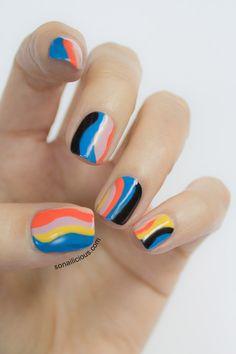 christian dior nails resort 2014