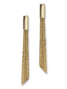 Earrings, gold, from Claudia Milic at Gallery Friends of Carlotta, contemporary…